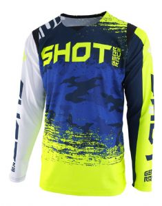 SHOT - Contact Counter Jersey - Blue/Yellow